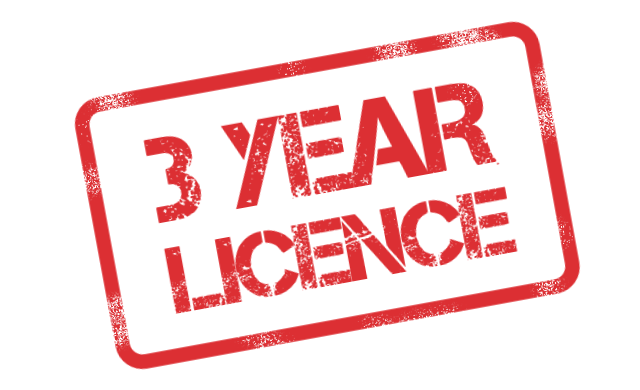 3-year-licence